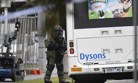 عملیلت یگان خنثی سازی بمب در ملبورن استرالیا