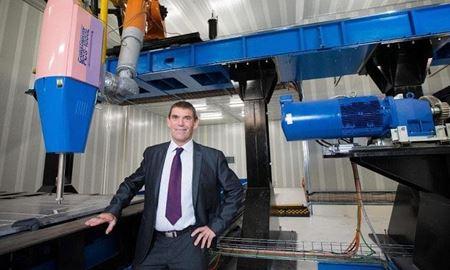 بزرگترین چاپگر فلزی جهان در ملبورن راه اندازی می شود