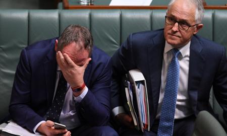 بارنابی جویس : مالکوم ترنبول در تلاش برای تضعیف دولتاسترالیاست!