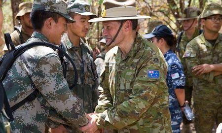مانور مشترک نظامی استرالیا و چین در آبهای سواحل کانبرا