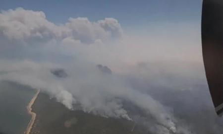 آتشسوزیهای گسترده در شمال شرقی استرالیا