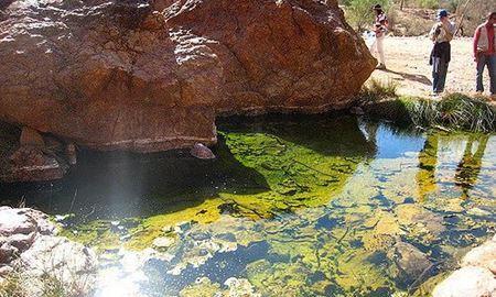 گردشگری استرالیا/ایالت استرالیای جنوبی( ادلاید).. South Australia/چشمه های آب گرم ( Paralana Radioactive Hot Springs )