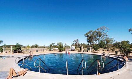 گردشگری استرالیا/ایالت نیو ساوت ولز(سیدنی)..Lightning Ridge, NSW/چشمه های آب گرم (Artesian Bore Baths )