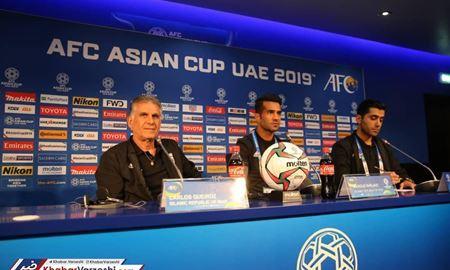 ایران-عمان؛ تیمی که باانگیزهتر باشد میبرد/کیروش: جام ملتها تازه از الان شروع شده است