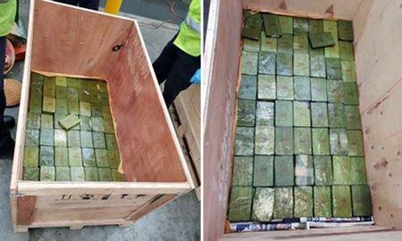 کشف یک محموله هروئین به ارزش ۱۰۰ میلیون دلار و دستگیری مجرمان در استرالیا