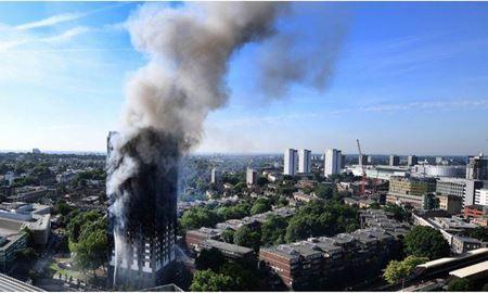 آتش سوزی در برج مسکونی در مرکز شهر ملبورن