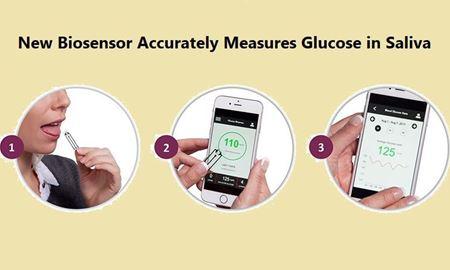 با کمک محققان استرالیا ، گلوکز بزاق با یک حسگر زیستی اندازه گیری می شود