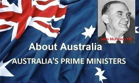 نخست وزیران استرالیا ، از ابتدا تا کنون - هجدهمین (18) نخست وزیر استرالیا - جان مکاِوِن John McEwen