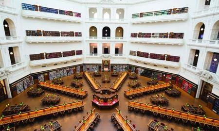 گردشگری استرالیا / ایالت ویکتوریا - ملبورن / کتابخانه ایالتی State Library