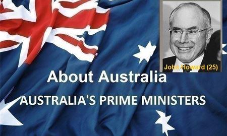 نخست وزیران استرالیا ، از ابتدا تا کنون - بیست و پنجمین (25) نخست وزیر استرالیا - جان هوارد (John Howard)