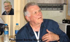 گفتگو باپروفسورPROFESSOR BERNIE NEVILLE برنارد نویل روانشناس و استاد دانشگاه PHOENIX ،LA TROBE استرالیا در مورد مسایل روانشناسی و خاطرات حضور در ایران/رادیو نشاط..مهشید باب زرتابی