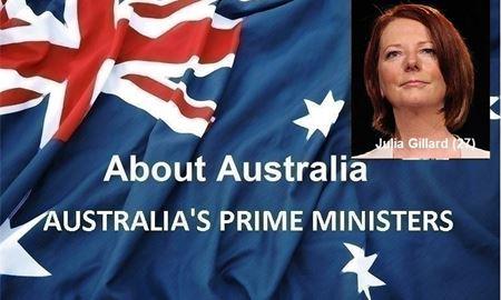 نخست وزیران استرالیا ، از ابتدا تا کنون - بیست و هفتمین (27) نخست وزیر استرالیا - جولیا گیلارد(Julia Gillard)