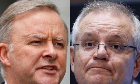 تلاش رهبران حزب لیبرال و حزب کارگر استرالیا برای جمع آوری رای