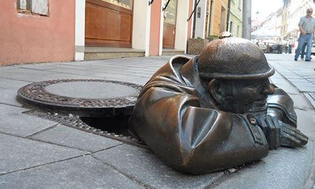 گزارش تصویری از تعدادی از خلاقانهترین مجسمههای دنیا