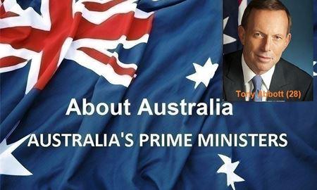 نخست وزیران استرالیا ، از ابتدا تا کنون - بیست و هشتمین (28) نخست وزیر استرالیا -تونی ابوت(Tony Abbott)