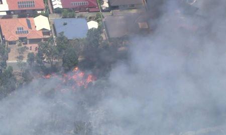 هشدار آتشسوزی برای ساکنان هایوی کمب