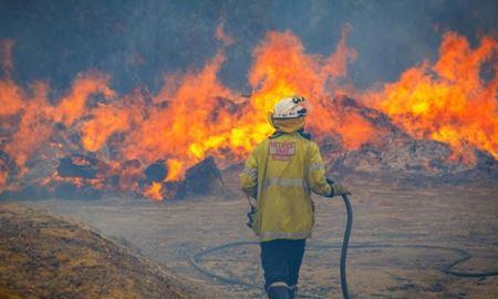 هشدار آتشسوزی در وورولو استرالیای غربی