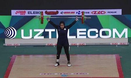 کسب سه برنز توسط دختر وزنهبردار ایرانی