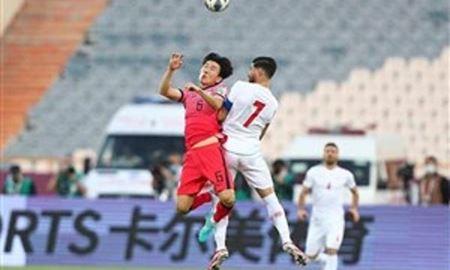 توقف تیم ملی فوتبال ایران در دیدار با کره جنوبی