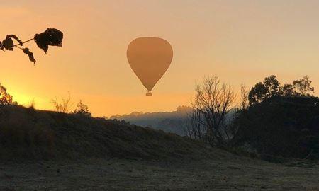گردشگری استرالیا/ بالن سواری در بر فراز شهر جیلانگ در ایالت ویکتوریا